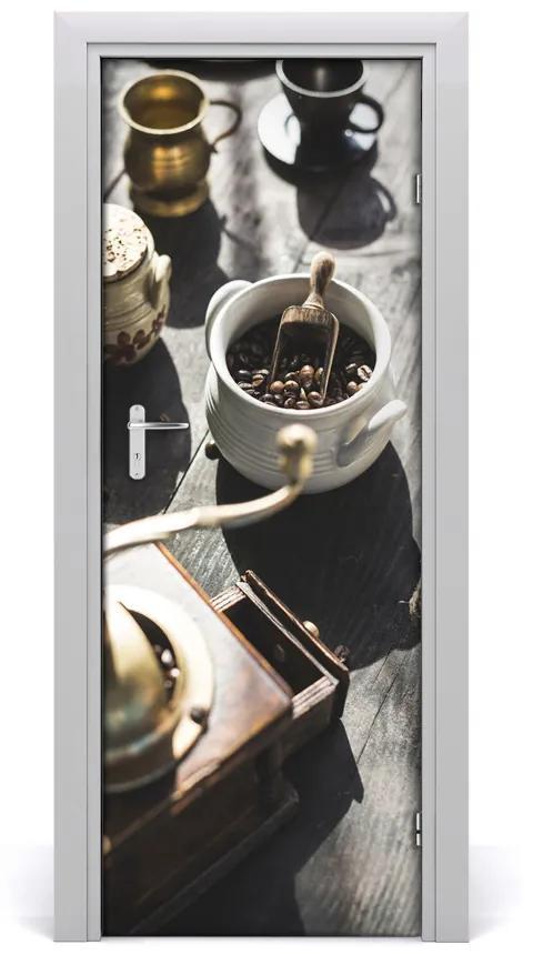 Autocolante pentru usi rasnite de cafea usi autoadezive