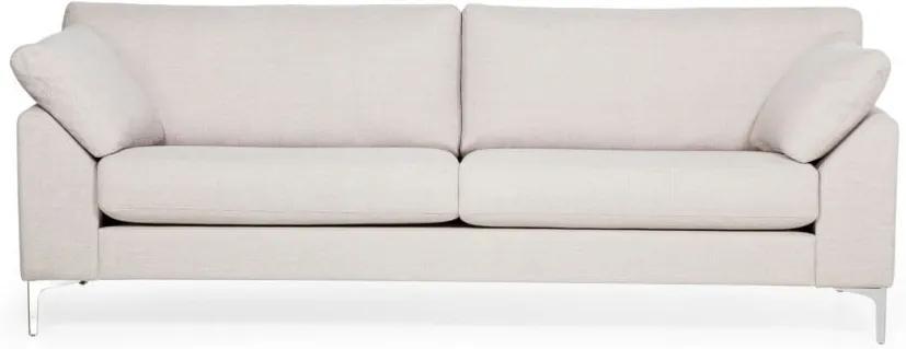 Canapea cu 3 locuri Softnord Garda, crem