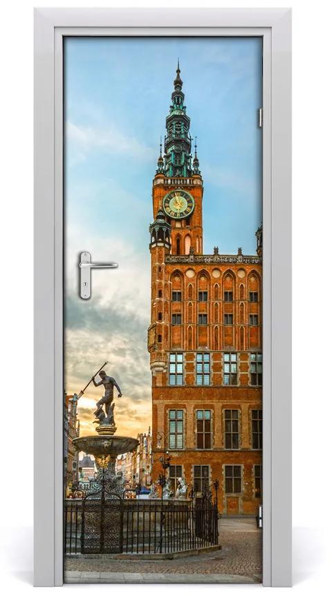 Autocolante pentru usi ușă autoadeziv Gdańsk Polonia