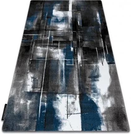 Covor INTERO ART 3D abstracțiune albastru 80x150 cm