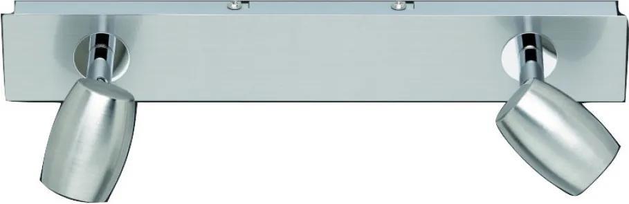 Trio MICHAEL 803000207 Plafoniere cu spoturi nichel mat nichel mat excl. 2 x GU10, max. 28W W:32cm, H:13cm,