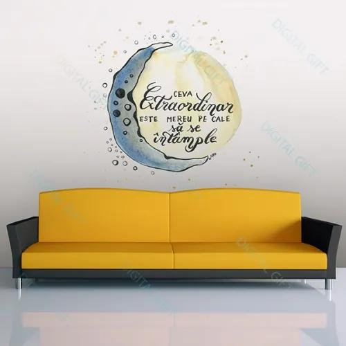 Sticker pentru perete - Ceva extraordinar 100x100 cm