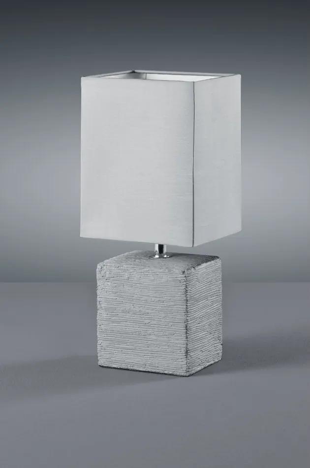 Trio R50131087 Veioze, Lampi de masă PING titan ceramică excl. 1 x E14, max. 40W 370lm 2700K IP20
