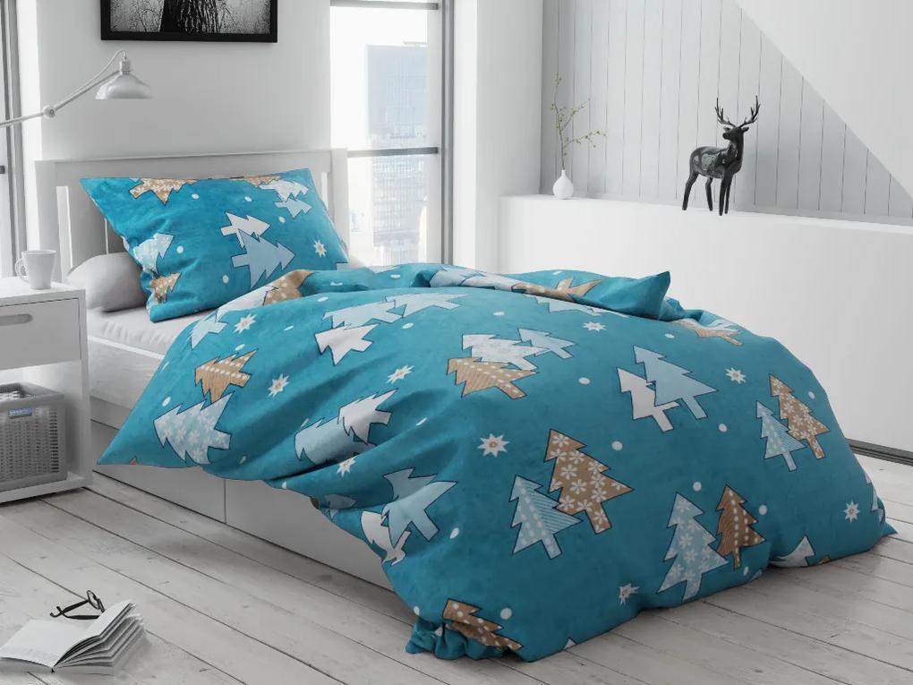 Lenjerie de pat microplus Rion albastră