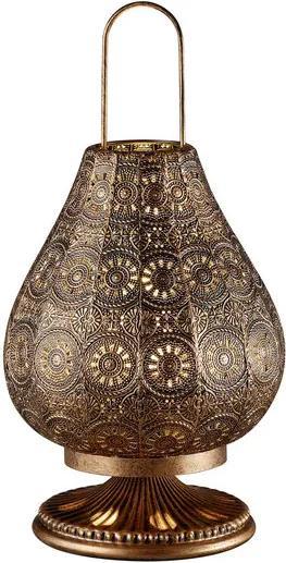 Trio JASMIN 503700162 Veioze, Lampi de masă cupru antic metal excl. 1 x E14, max. 40W IP20