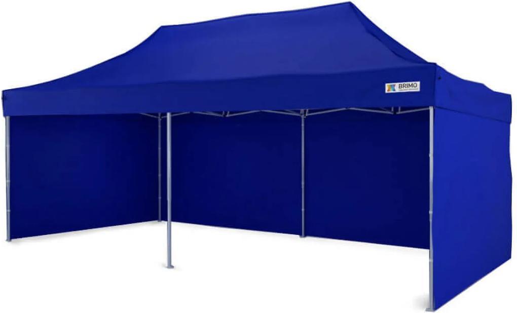 Cort de vânzăre 3x6m - Albastru