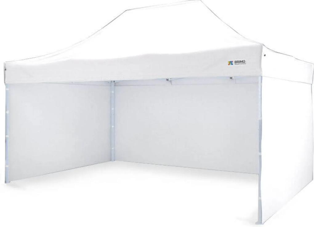 Cort evenimente 3x4,5m - 3x4,5m cu 3 pereți - white