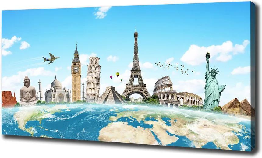 Print pe canvas Monumente ale lumii