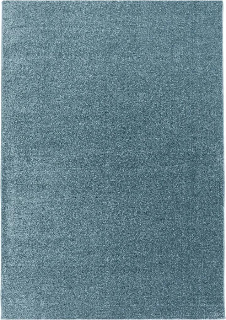 Covor Unicolor Painswick, Albastru 80x150