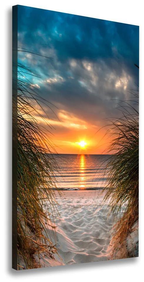 Tablou pe pânză canvas Apus de soare pe mare