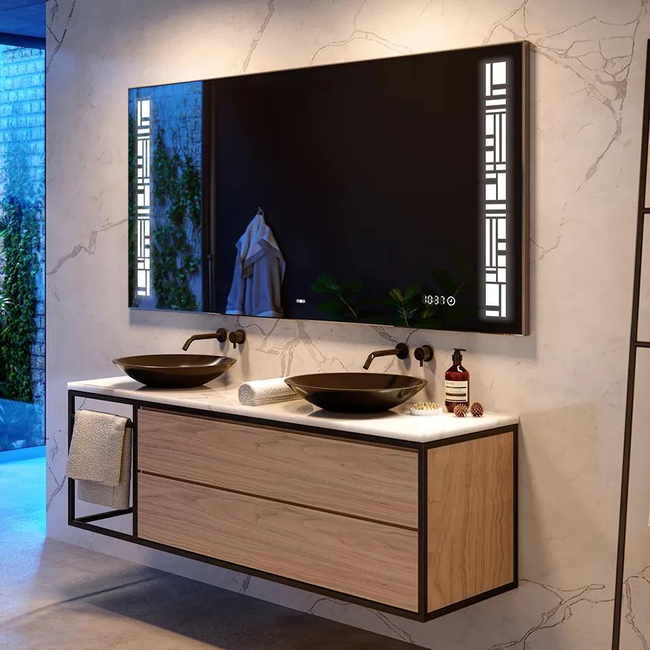 Oglinda baie cu iluminare LED40