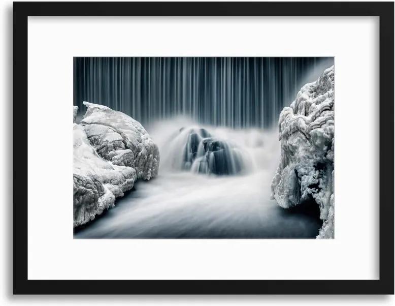 Imagine în cadru - Icy Falls by Keijo Savolainen 40x30 cm