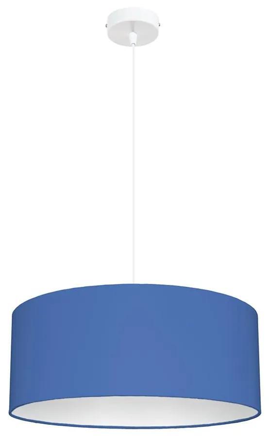 Lustră pe cablu WERT 1xE27/60W/230V albastru