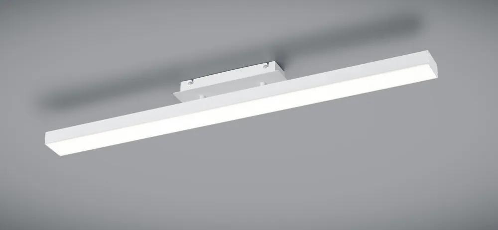 Trio R62801131 Plafoniere AGANO alb mat aluminiu incl. 1 x SMD, 18W, 3000K, 1800Lm 1800lm IP20 A+