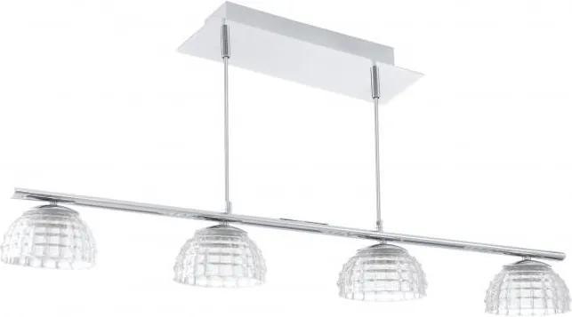 EGLO 92218 - LED Lampa suspendata FROSSINI 4xLED/6W/230V