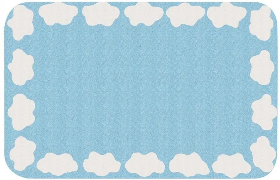 Covor albastru pentru copii 120x67 cm Maddox Zala Living