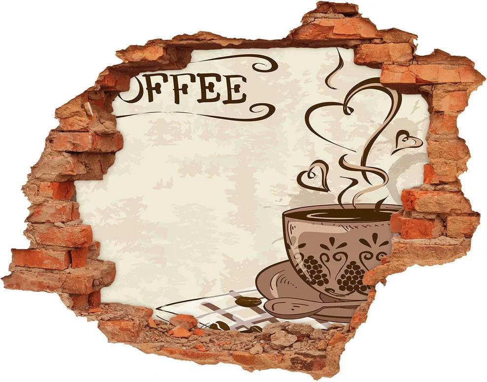 Autocolant autoadeziv gaură Cafea aromatică