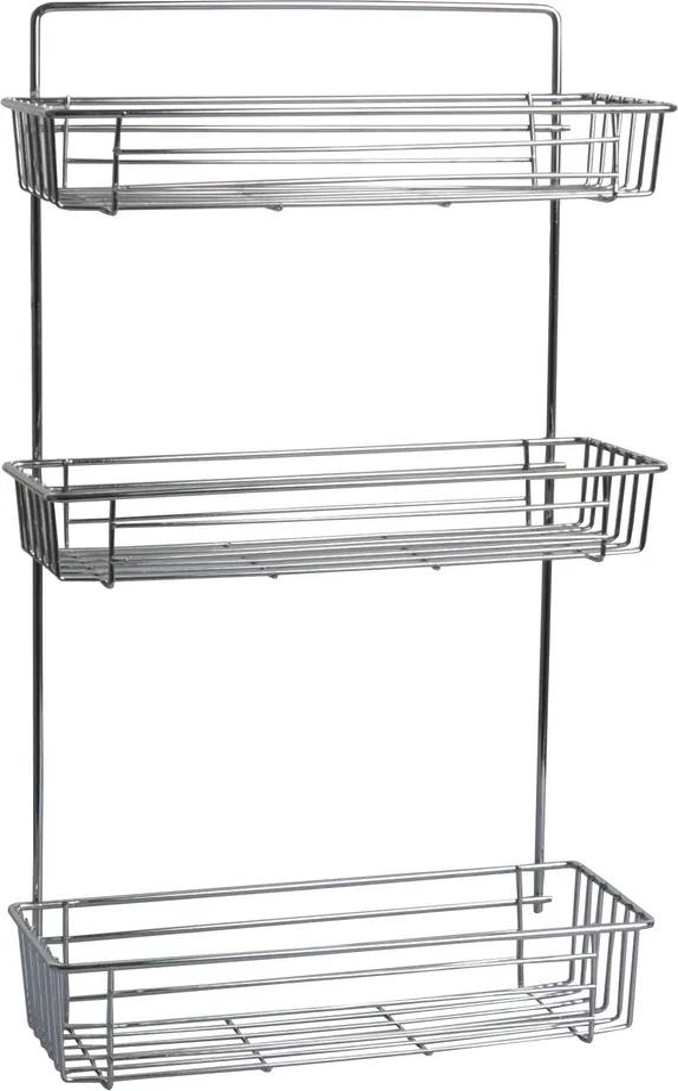 Raftieră pentru baie cu 3 niveluri, 28 X 14,5 x 55 cm