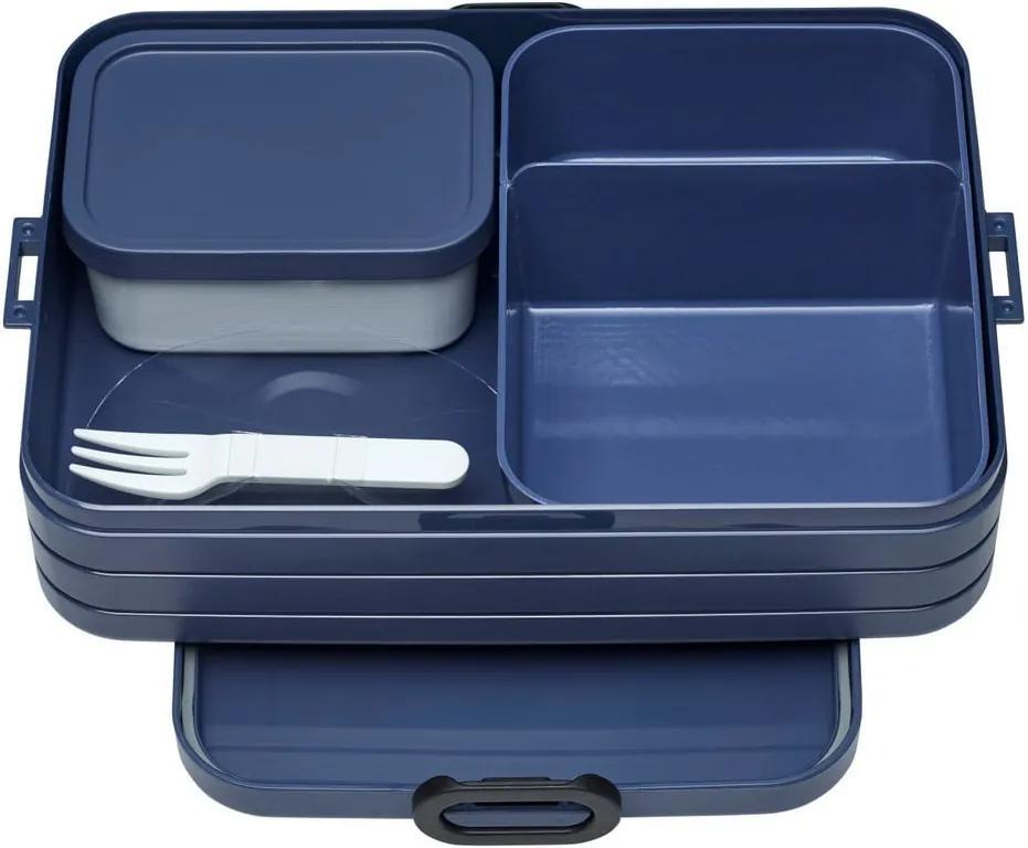 Set caserole pentru prânz Rosti Mepal Nordic Large, albastru