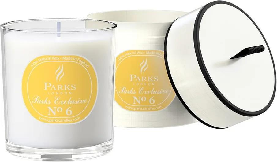 Lumânare parfumată cu aromă de lime și lămâie Parks Candles London Exclusive, durată ardere 50 ore