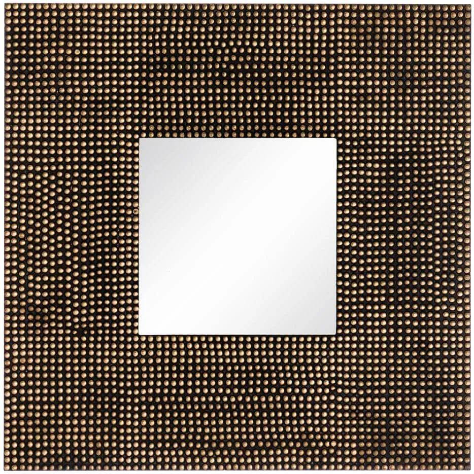 Oglinda decorativa patrata 90x90cm Dots