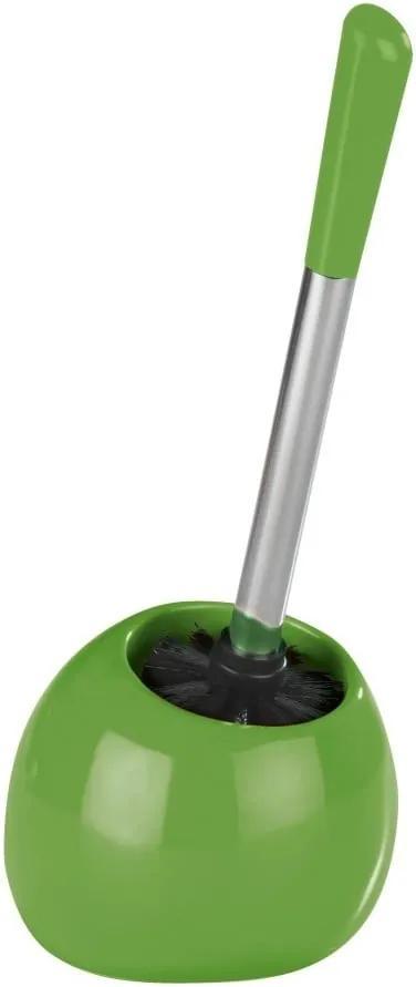 Perie pentru toaletă Wenko Polaris Green, verde