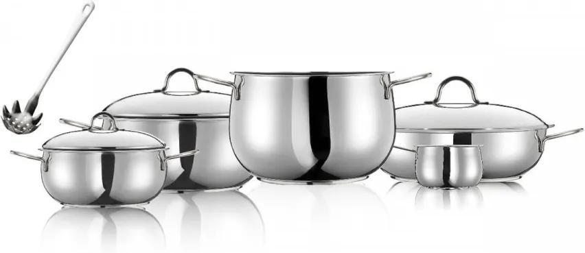 Set de vase de gatit River Inoxriv, 9 piese
