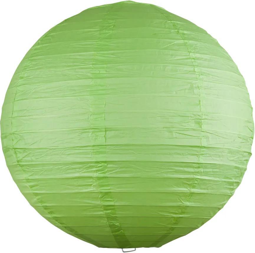 Rábalux Rice 4891 Pendule din hartie de orez verde Ø300 mm