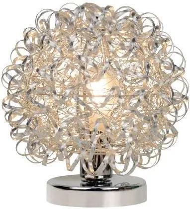 Lucide 08502/25/12 - Lampa de masa NOON 1xE27/60W/230V crom