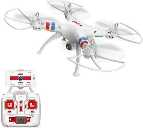 Syma - Quadcopter Explorers WiFi FPV cu camera video HD Alb