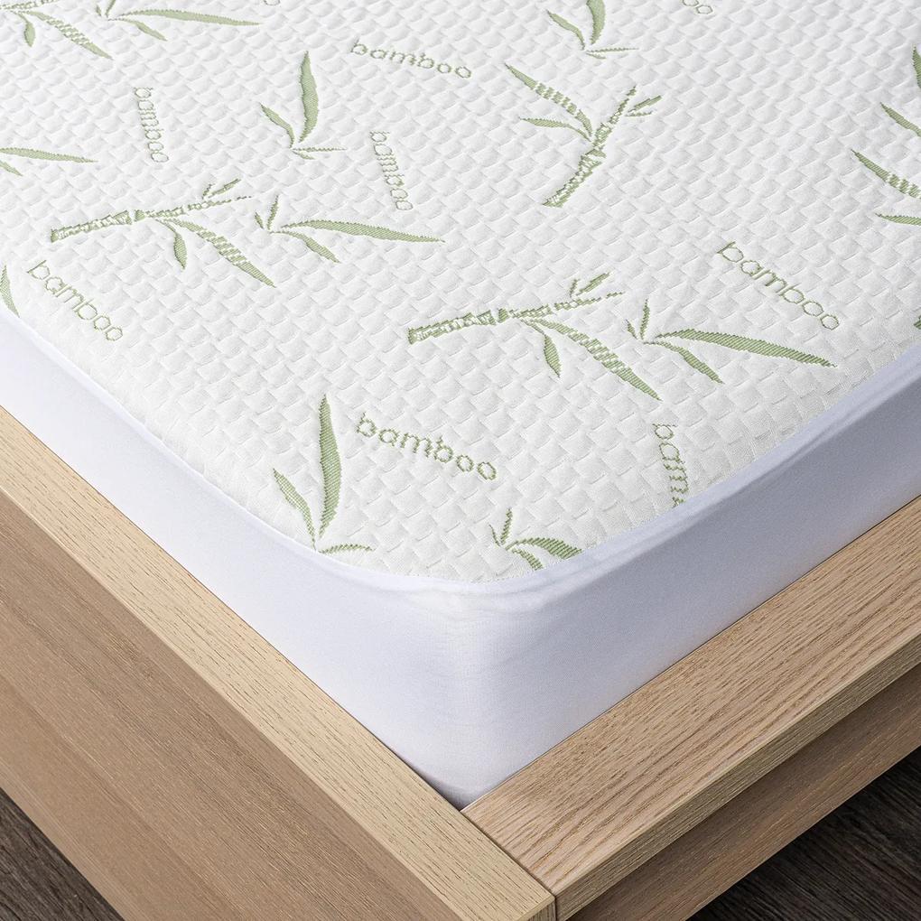 Protecție saltea 4Home Bamboo cu bordură, 60 x 120 cm + 15 cm, 60 x 120 cm