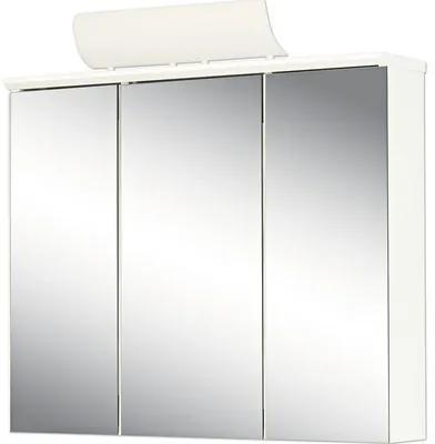 Dulap cu oglinda Jokey Manos, cu iluminare, 72,5x73 cm, alb, IP 20