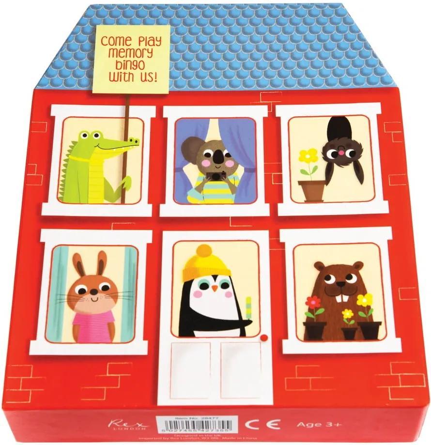 Joc de memorie pentru copii Rex London Memory