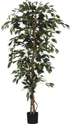 Planta artificiala, Ficus Benjamina, verde