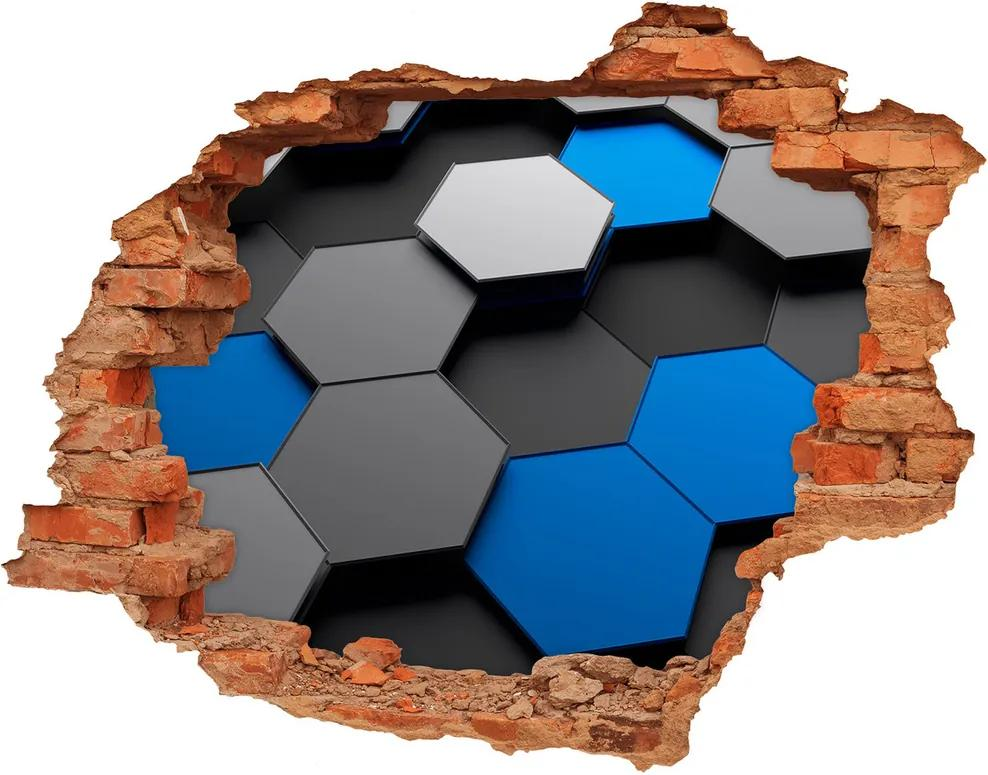 Autocolant autoadeziv gaură 3D Abstracție
