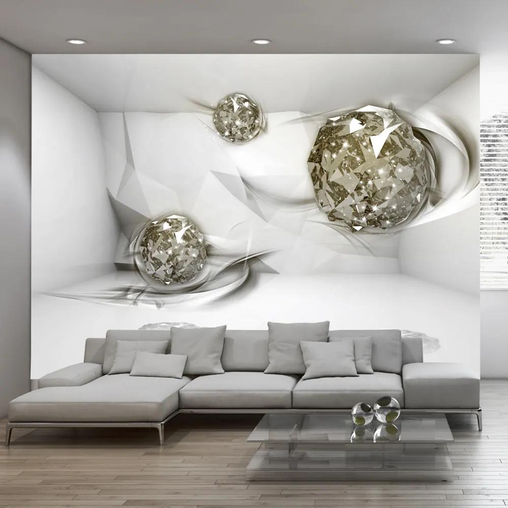 Fototapet Bimago - Abstract Diamonds + Adeziv gratuit 400x280 cm
