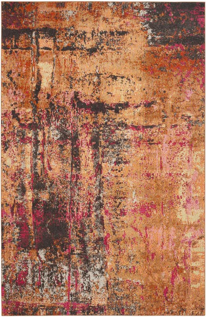 Covor Modern & Geometric Inigo, Multicolor, 122x170