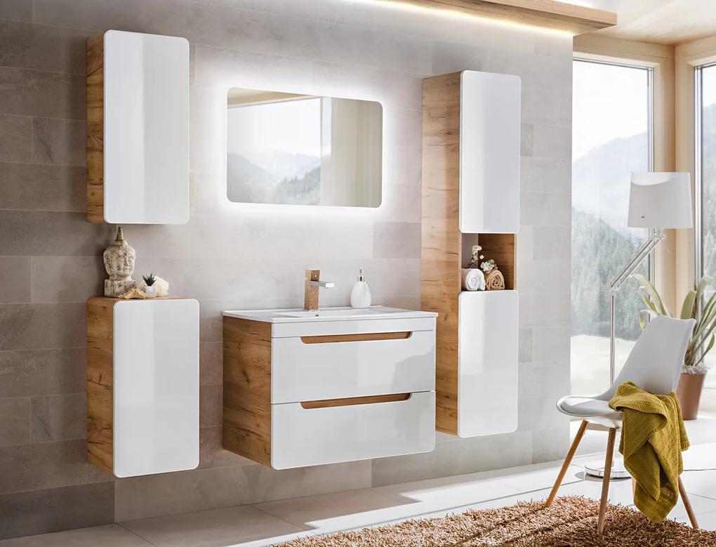 Set mobilier pentru baie 5 piese Aruba 60 cm