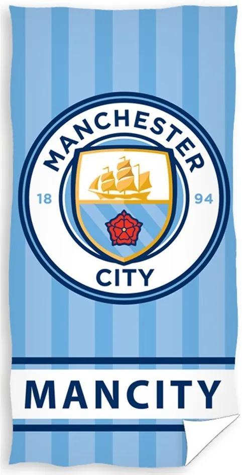 Prosop plajă Manchester City - Mancity, 70 x 140 cm