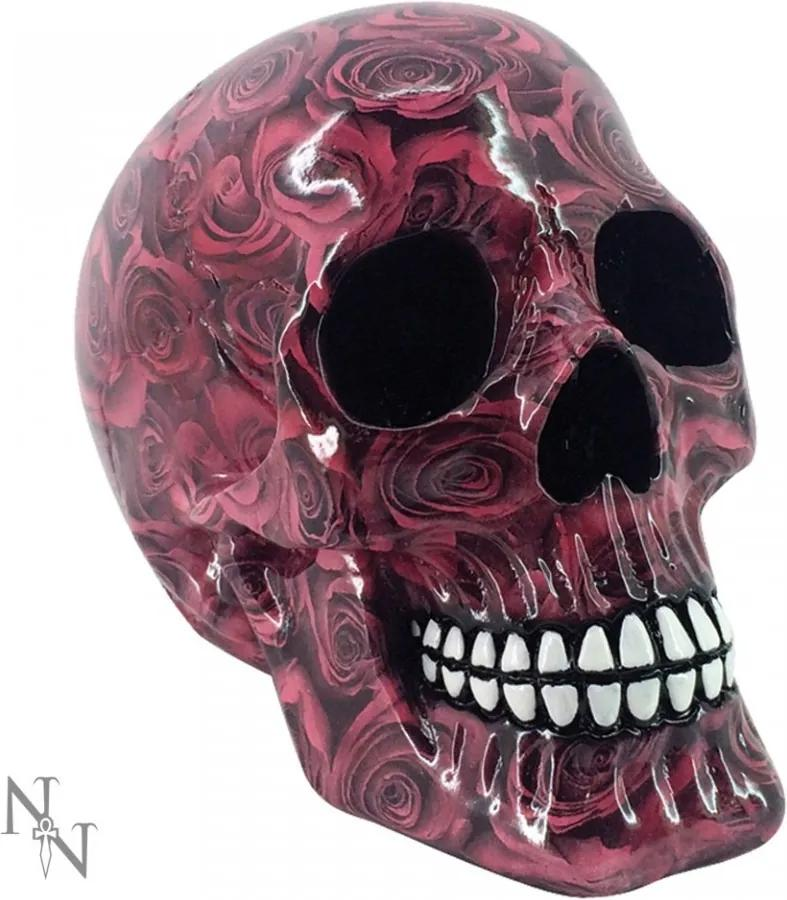 Statueta craniu Romance 19 cm