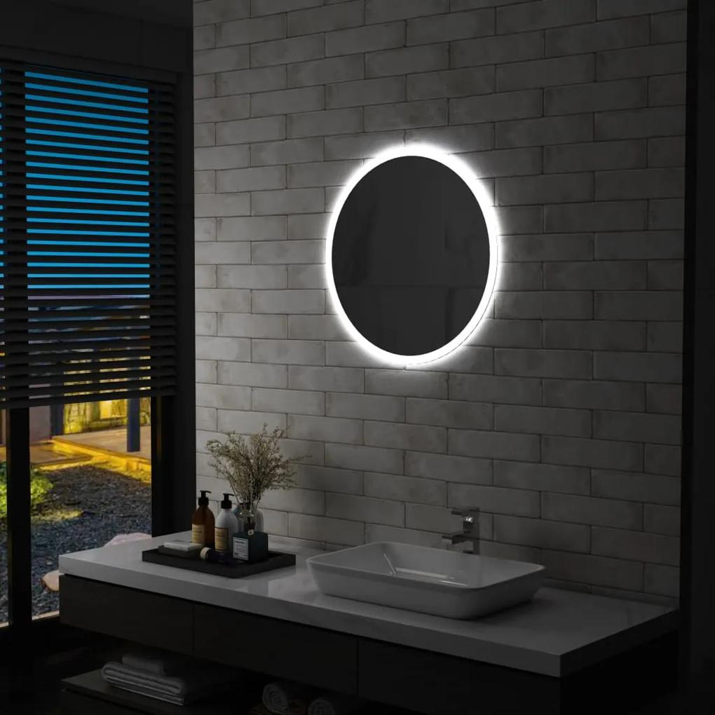 144723 vidaXL Oglindă cu LED de baie, 60 cm