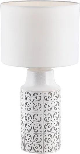 Rábalux Agnes 4308 Lampa de masa de noapte alb alb E27 1X MAX 60W