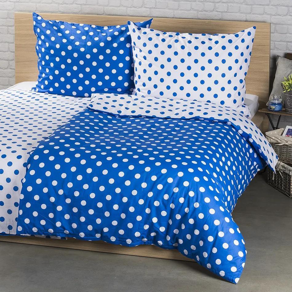 Lenjerie pat 1 pers. 4Home Buline albastru, bumbac, 160 x 200 cm, 70 x 80 cm, 160 x 200 cm, 70 x 80 cm