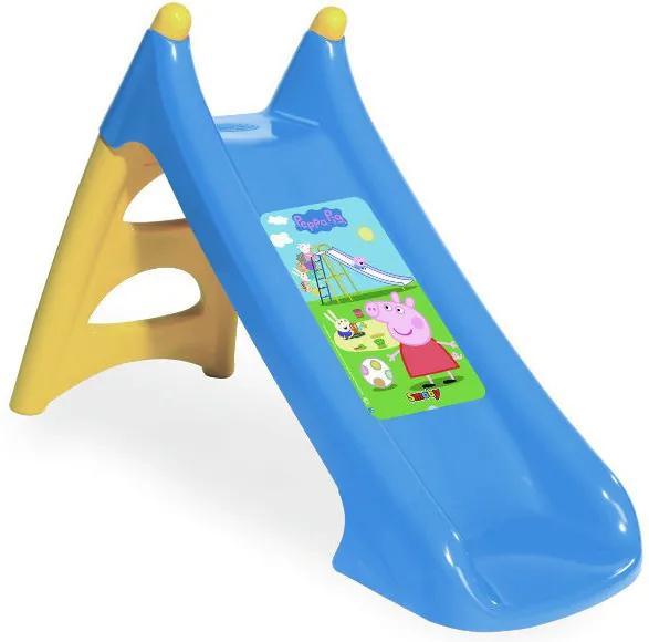 Tobogan copii Smoby XS 820609 Peppa Pig cu sistem de apa