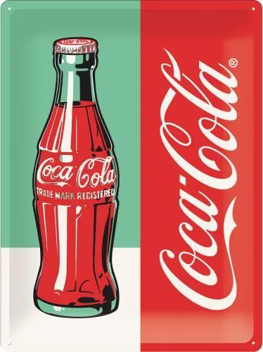 Placă metalică: Coca-Cola Pop Art (1) - 40x30 cm