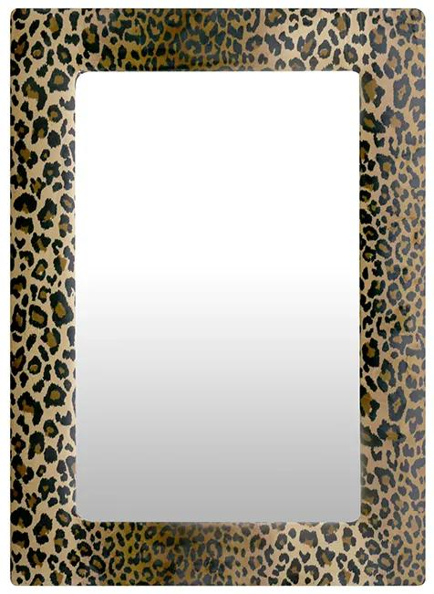 Oglinda Leo, MDF,catifea sticla, multicolor, 2.5x50x70 cm