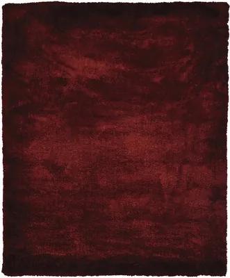 Covor Shaggy microfibra rosu 80x150 cm
