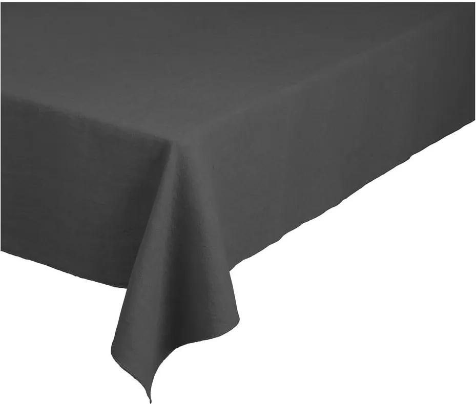 Față de masă din in Blomus, 160 x 300 cm, gri închis