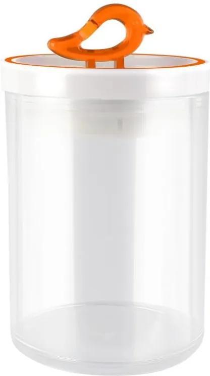 Recipient Vialli Design Livio, 800 ml, portocaliu