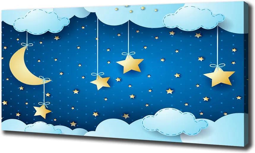 Tablou pe pânză canvas Cerul de noapte